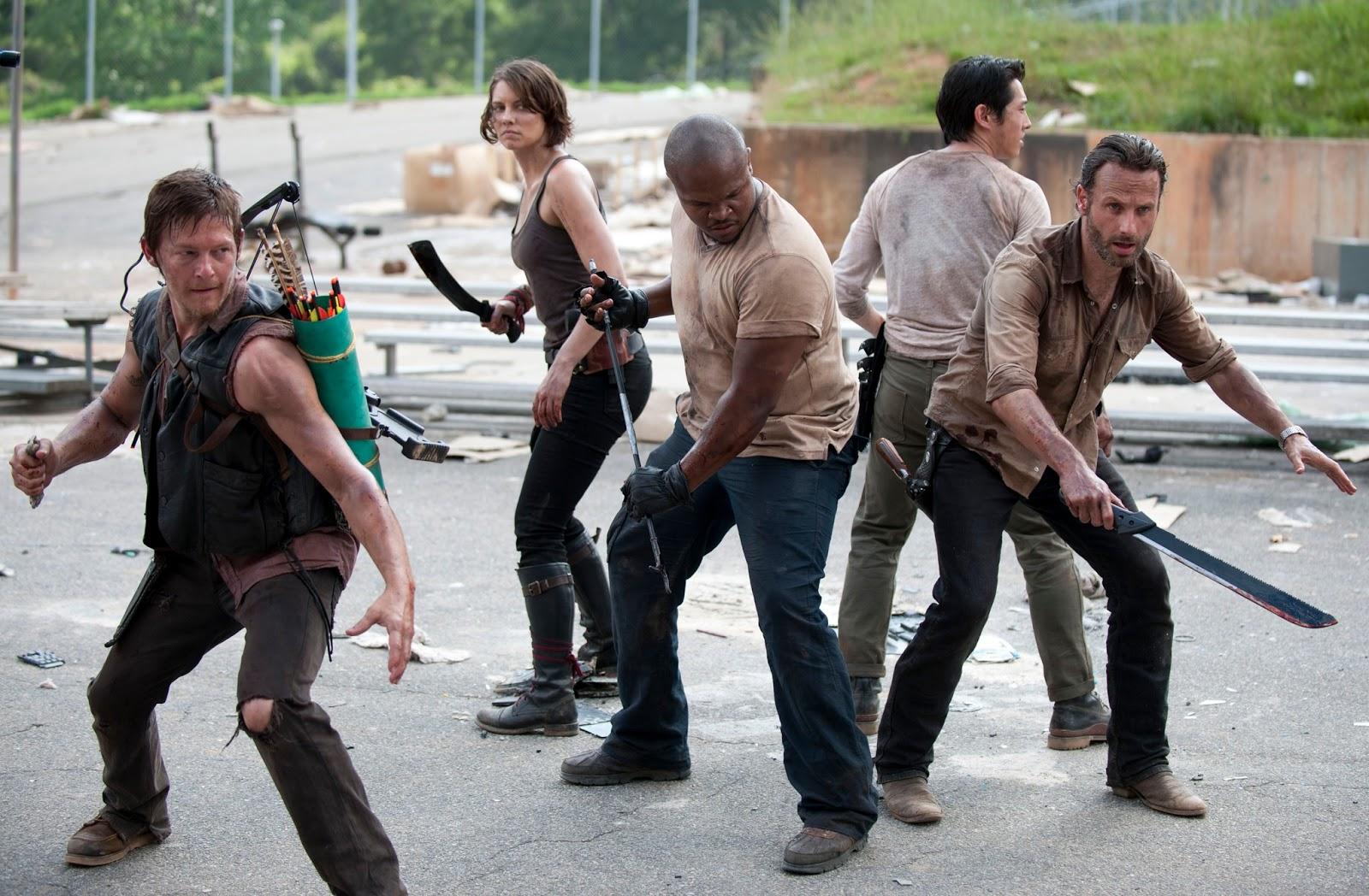 Echando un vistazo al reparto de la 4ª Temporada   The Walking Dead ...