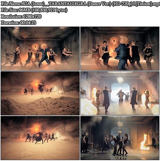 Download MV XIA (시아) / Junsu (준수) (JYJ) - TARANTALLEGRA (타란탈레그라) (Dance Version) (HD 720p)