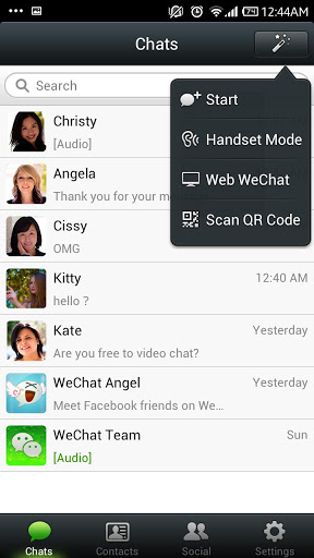best chat app for android