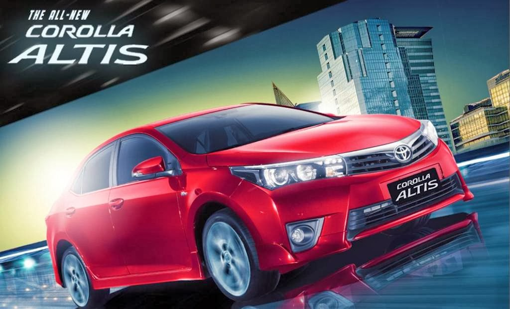 UPDATED: This Is The 2014 Toyota Corolla Altis (w/ Video, Complete Specs)