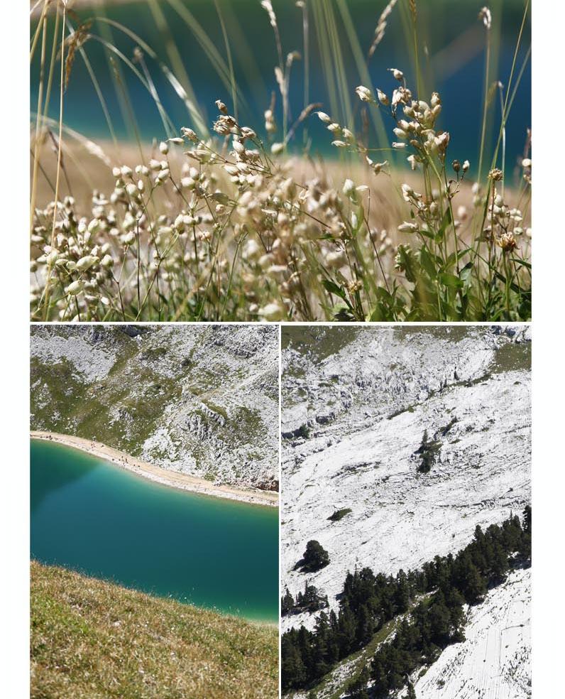 bleu turquoise du lac de la Moucherolle vercors