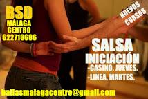 SALSA INICIACIÓN EN JUNIO 2016 EN BSD MÁLAGA CENTRO.