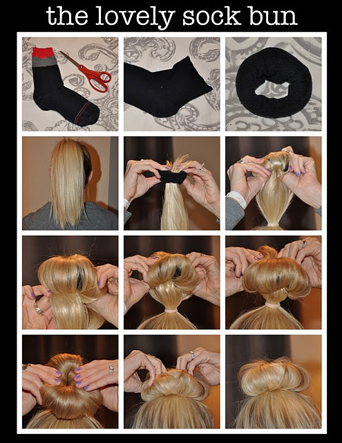 Как сделать прическу бублики на голове
