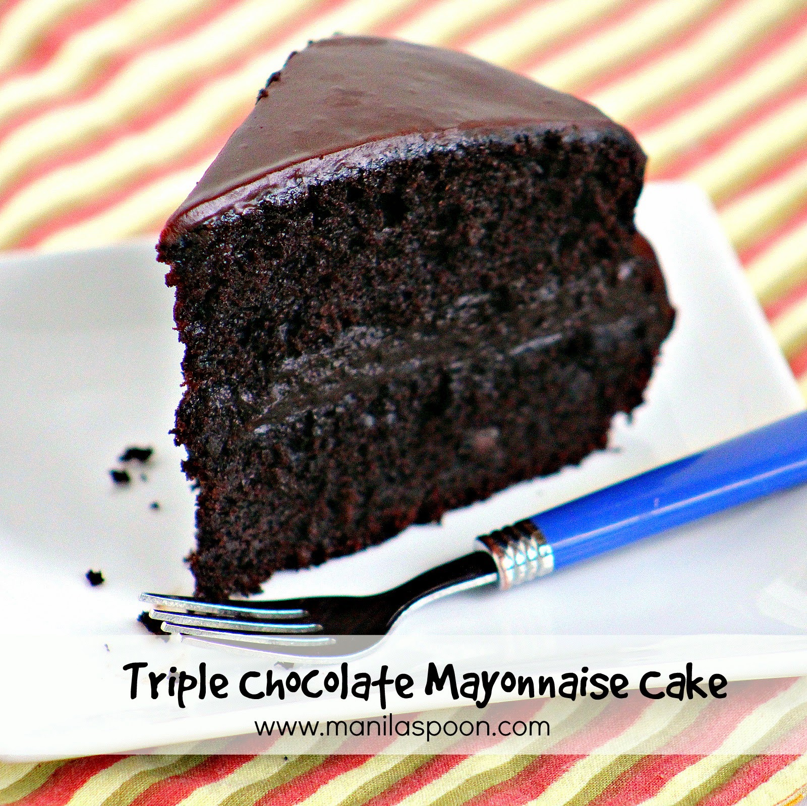 Chocolate Mayonnaise Cake Frosting