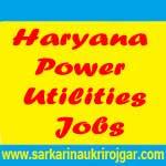 Haryana Power Utilities Recruitment