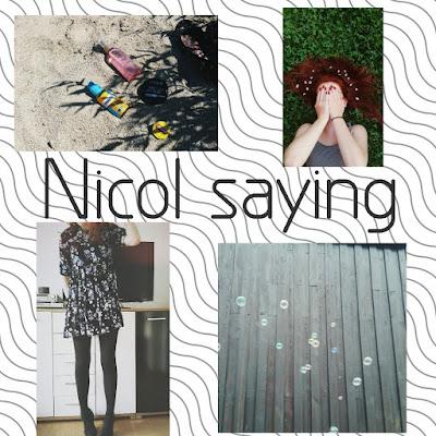 Nicol saying