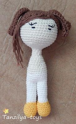 Как сделать прическу куколке