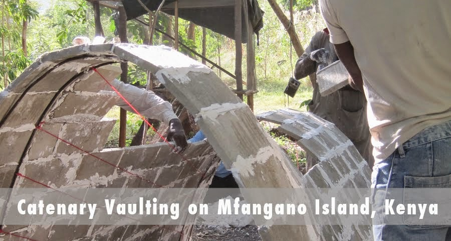 Catenary Vaulting on Mfangano Island, Kenya