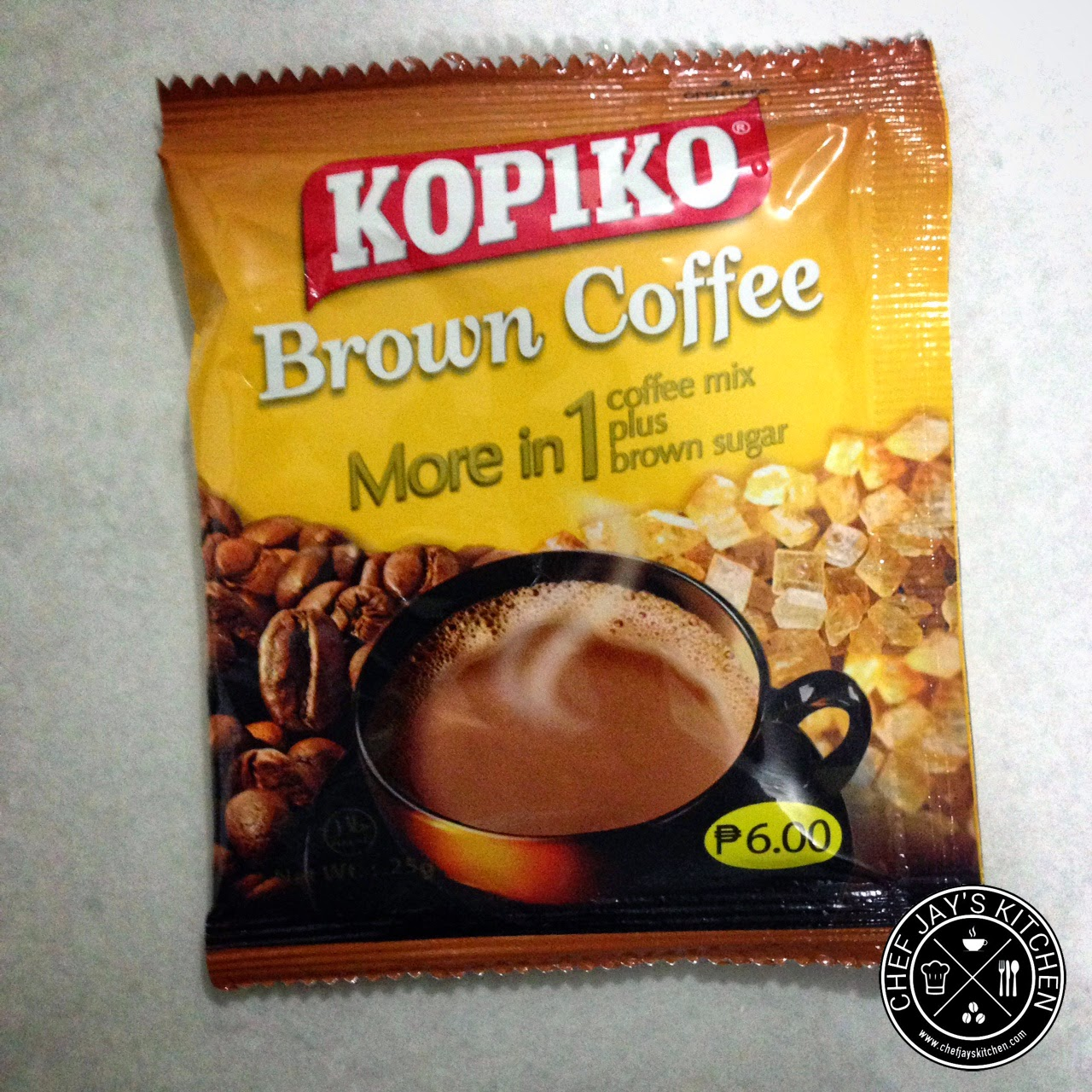 Brown Coffee Brands in the Philippines Review - Kopiko Brown