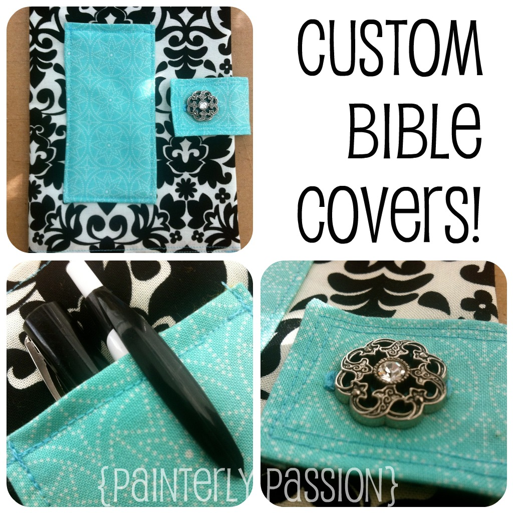 Bible Covers: Painterly.passion: Custom Bible Covers