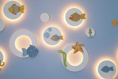 Iluminação para quarto de bebe