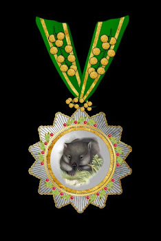 Grand Order of the Wombat, 1st Class,with Acacia Clasp, Hoche-Affeburg.