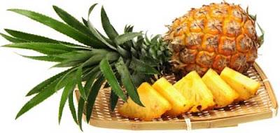 Buah nanas yang mengandung banyak manfaat bagi kesehatan tubuh manusia