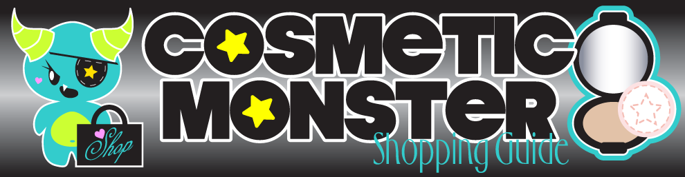 Cosmetic Monster Shopping Guide
