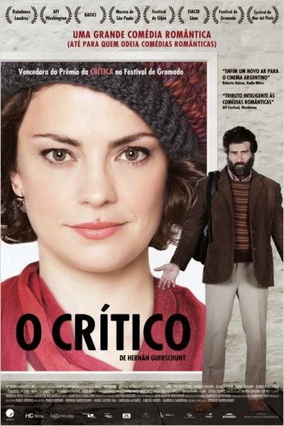 """Poster do filme """"O Crítico"""""""