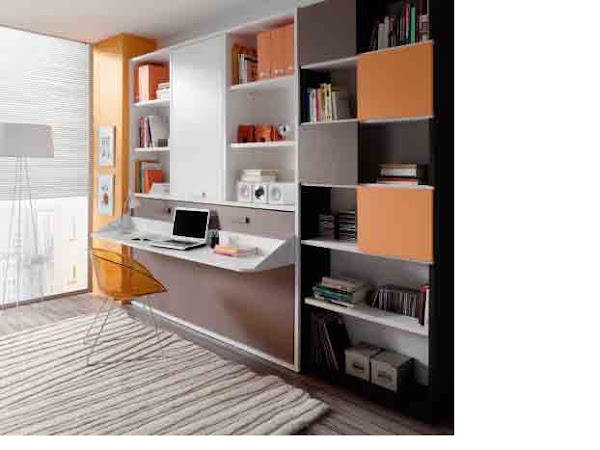 Camas abatibles - Dormitorios con cama abatible ...