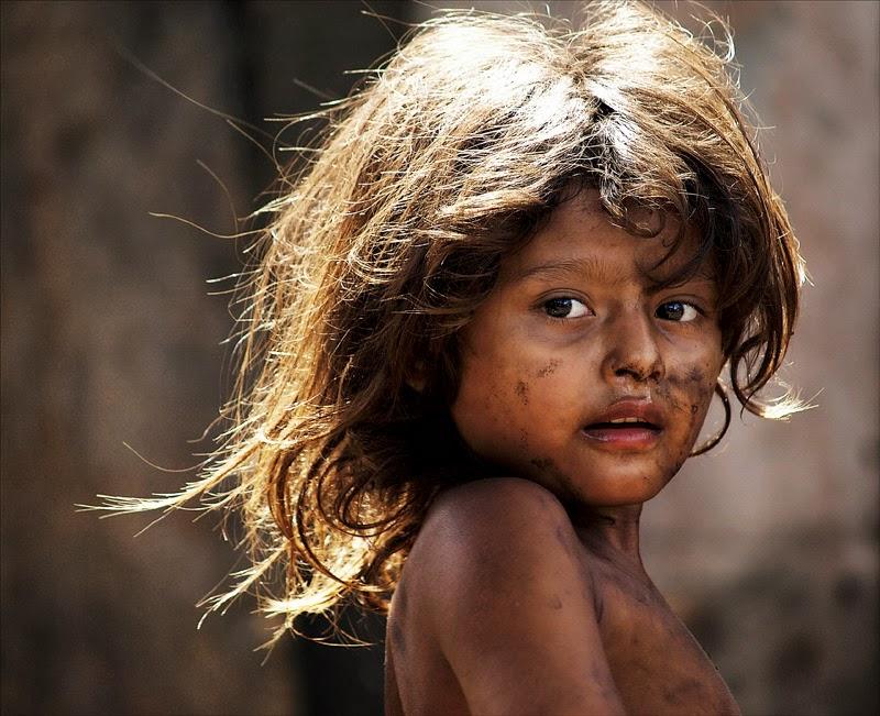 Gunnar Salvarsson: child at La Chureca dump, Nicaragua.