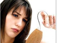 sakit menyebabkan rambut rontok