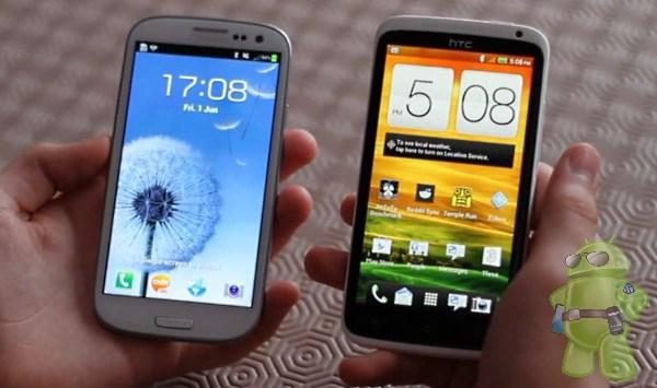 Samsung's Galaxy Note II vs. HTC One X+