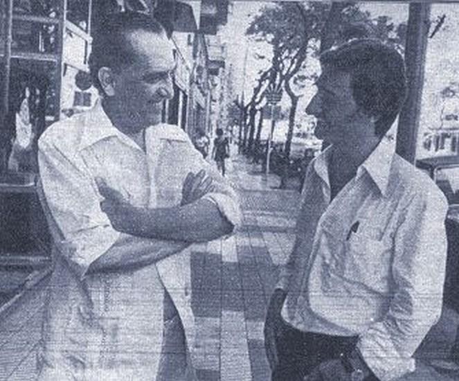 Hugo del Carril Revista Siete Días Ilustrados enero 1974