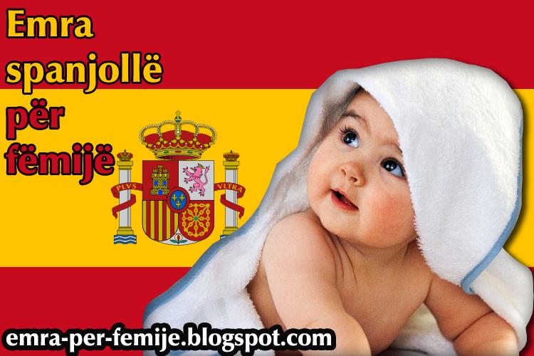Emra spanjolle per femije