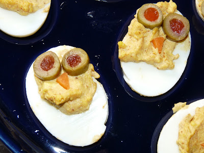 deviled egg owl