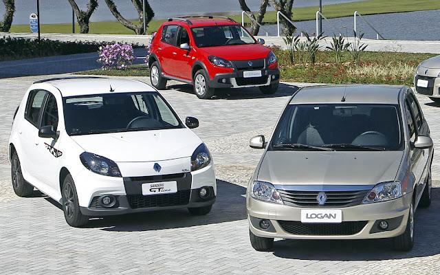 Renault Sandero e Logan 2013: fotos, preços e itens de série