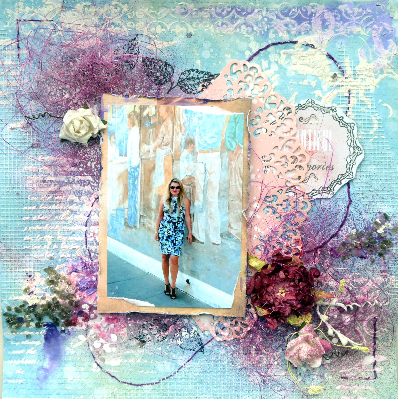 LOVE CALIFORNIA BY AGNIESZKABELLAIDEA MIXED MEDIA PAGE FOR 13ARTS