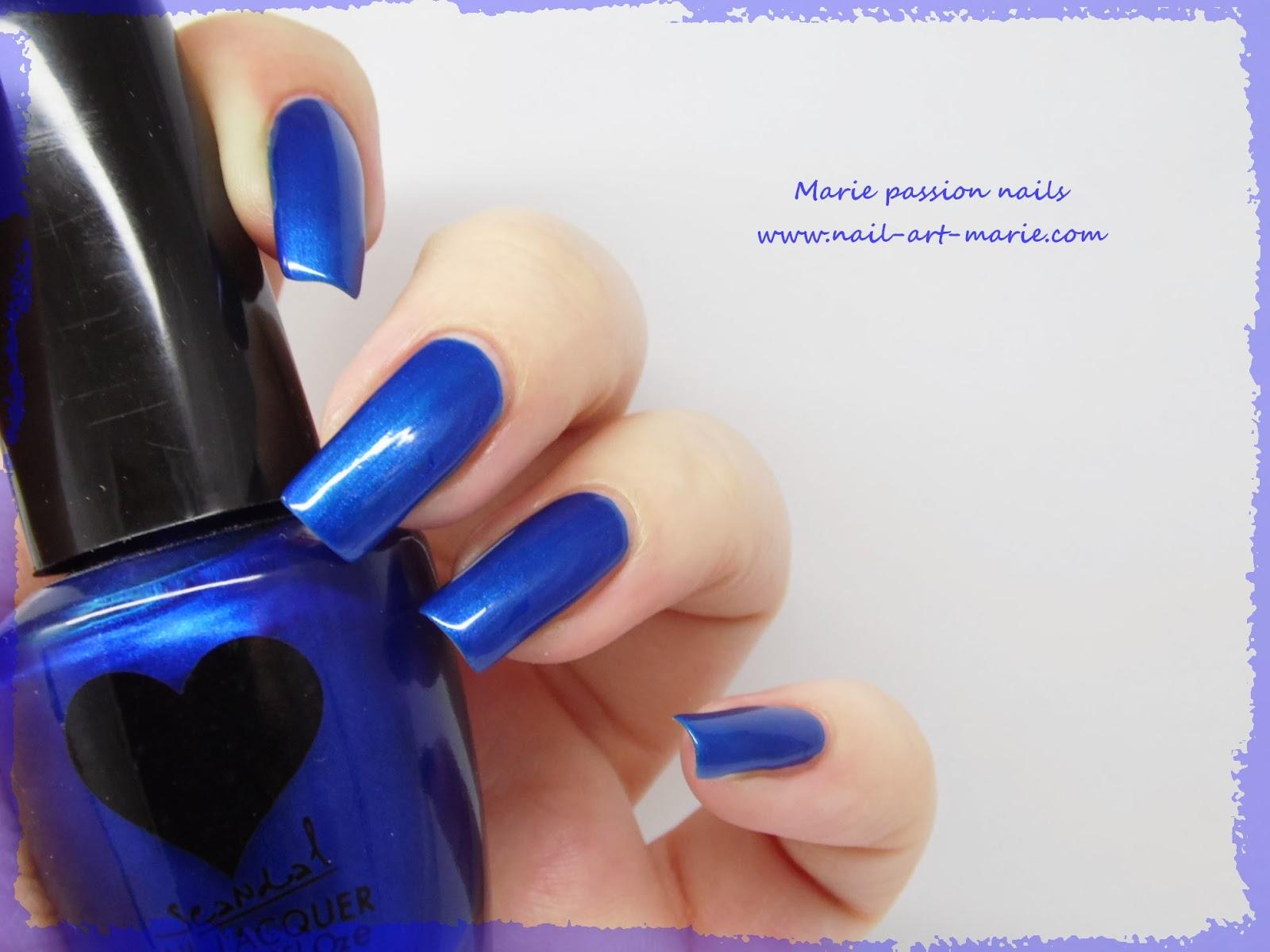 Vernis Scandal Sea Blue Pearl6