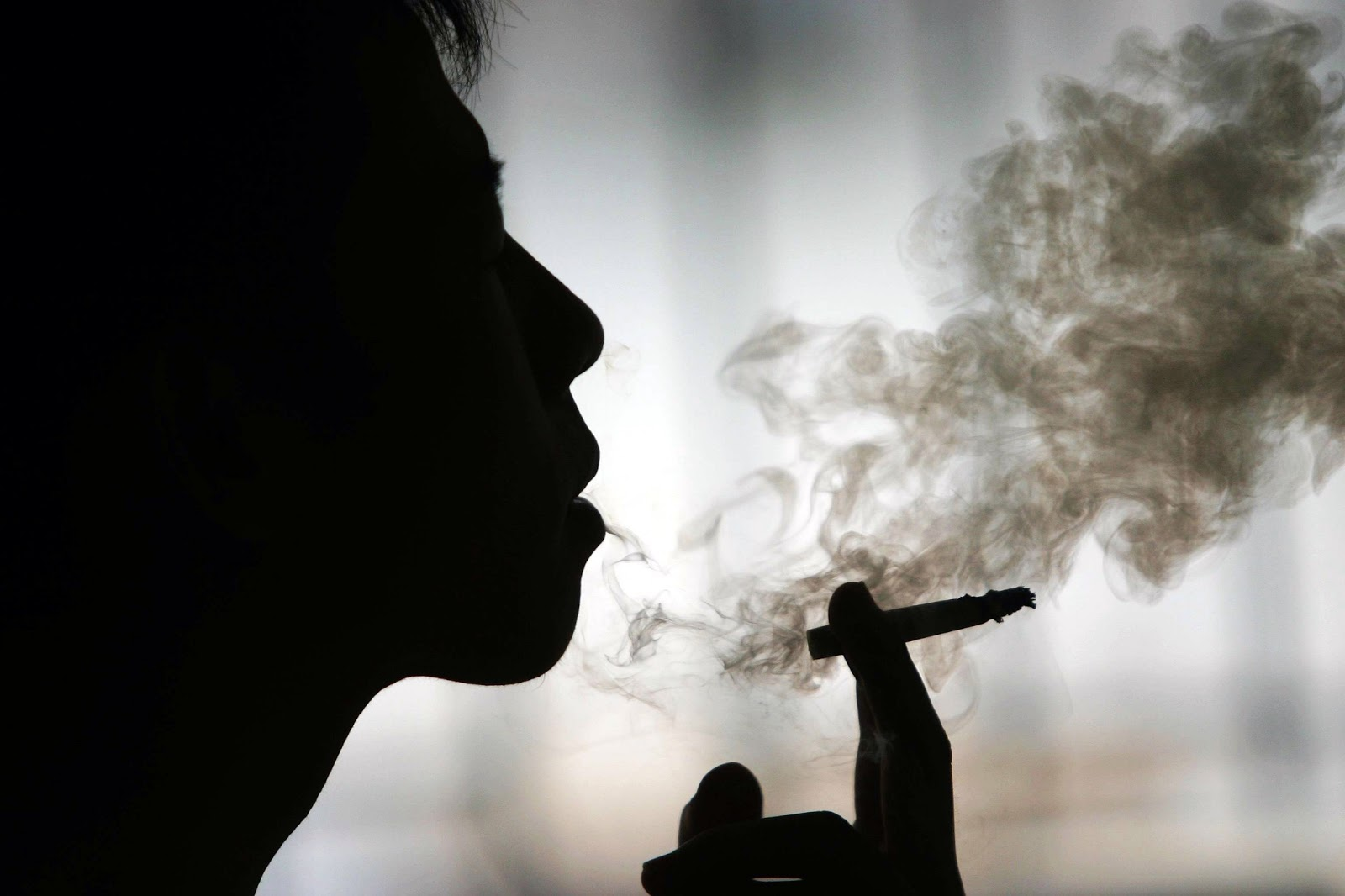 Quello che con pressione dopo ha smesso di fumare