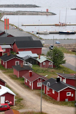 kalastajakylä majakasta