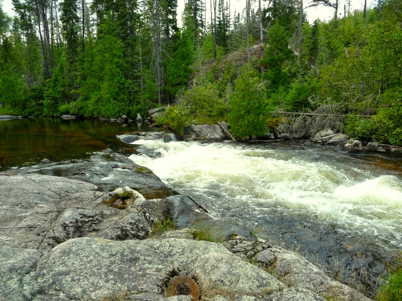 Little Rock Falls, Pine River, BWCAW