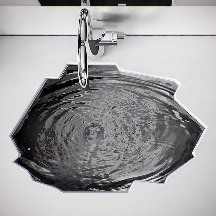 Baños Turcos Modernos:Lavamanos de diseños ultra modernos para decorar tu Baño