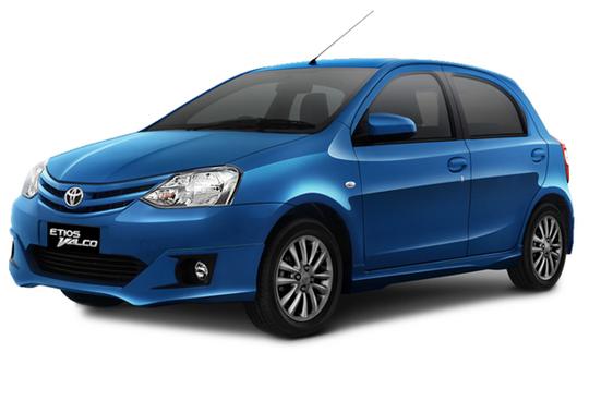Toyota Etios Valco Warna Biru /Blue