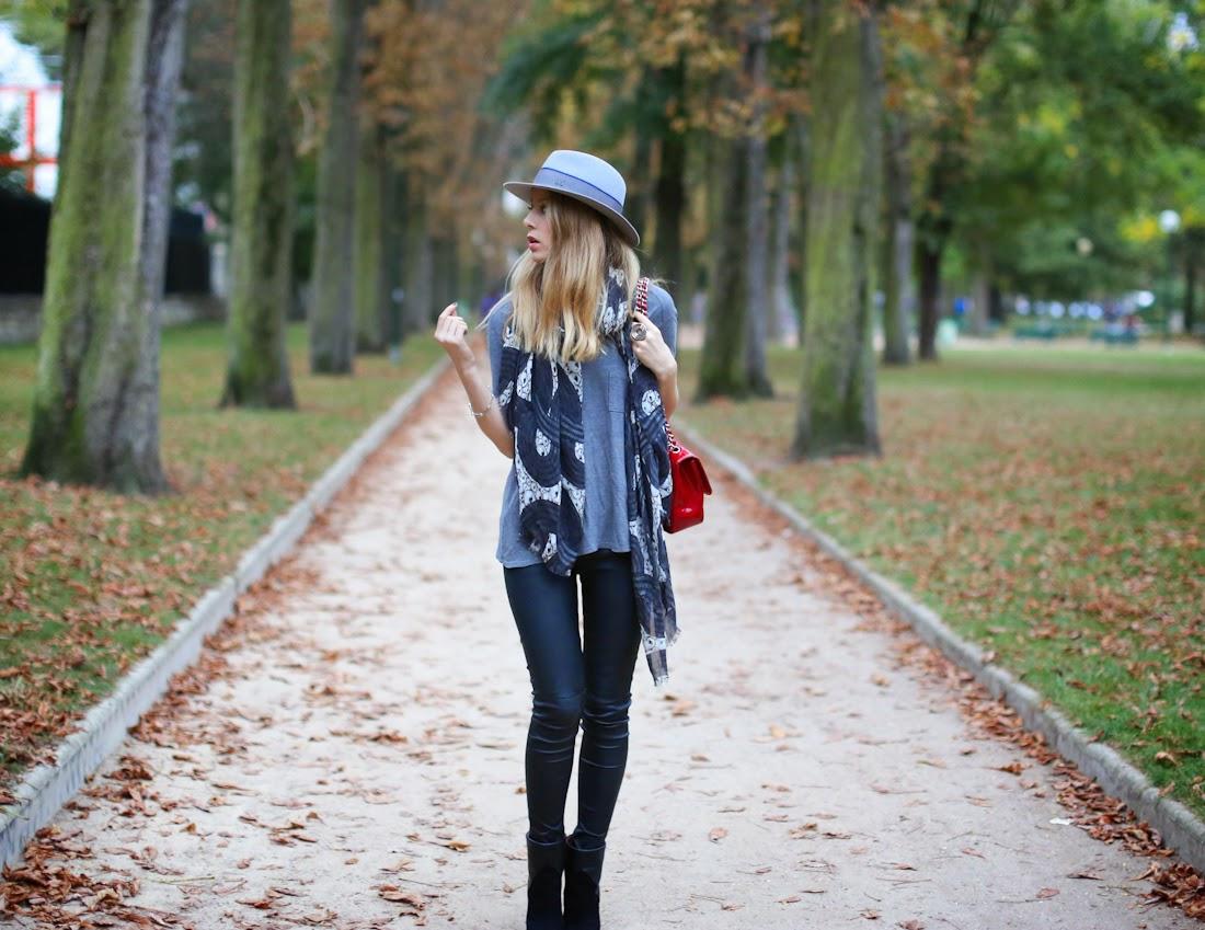 iro, blk dnm, maison michel, lara bohinc, chanel, streetstyle, fashion blogger, look du jour, outfit