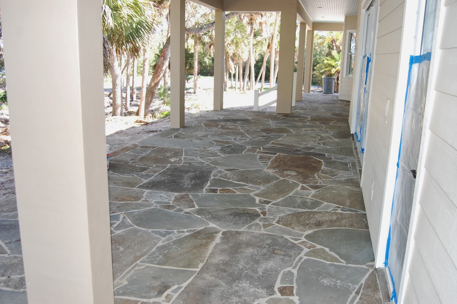The sinclair house for Bluestone porch