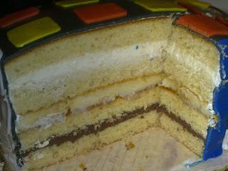 torta buon compleanno cubo di rubik