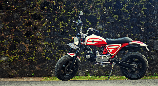 Honda Monkey Custom Bike | custom Honda Monkey Bike | Honda monkey bike ebay | custom Honda bike parts | Honda monkey bike for sale | Darizt Design  Folks at Darizt Design has built beautiful custom Honda monkey bikes