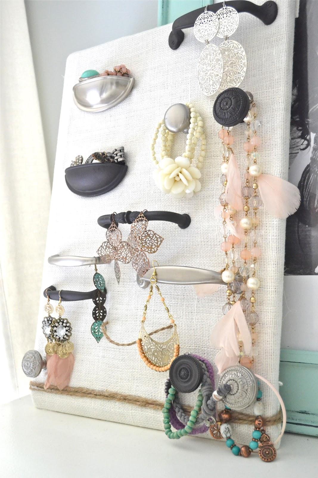 Door Hardware Jewelry Organizer Holder