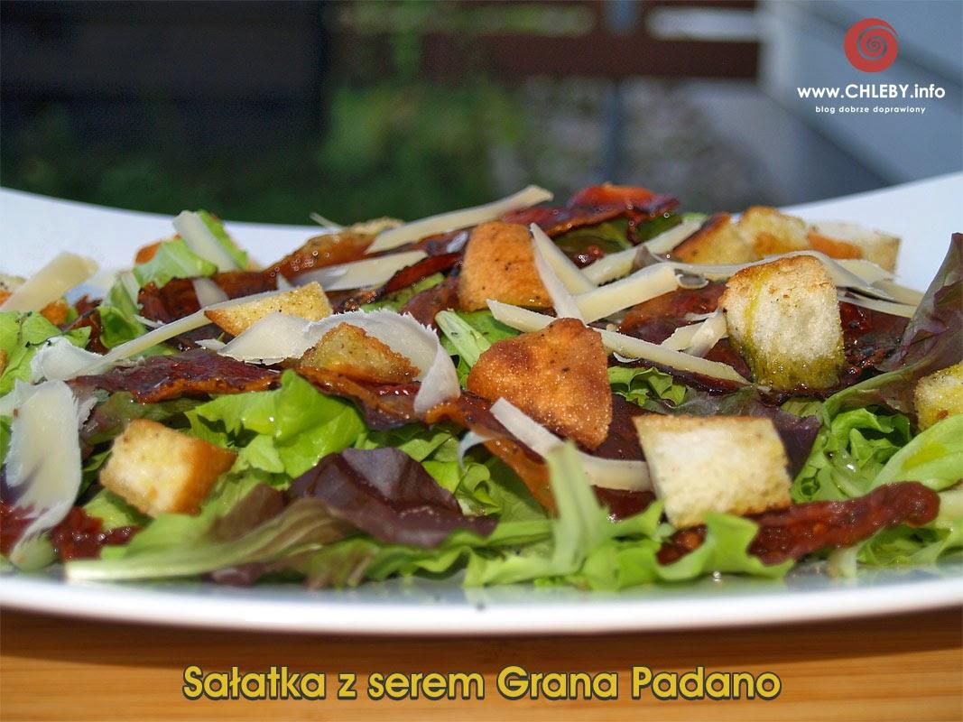 Sałatka z serem Grana Padano