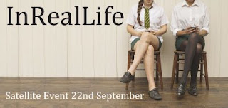 Poster for In Real Life Satellite Event 22nd Sept