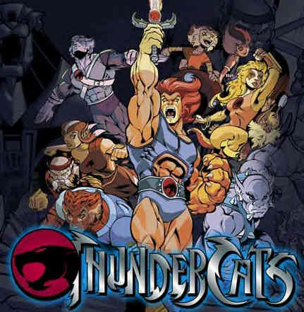 Thunder Cats  on Thundercats Will Be Invading The San Diego Comic Con With Some Amazing