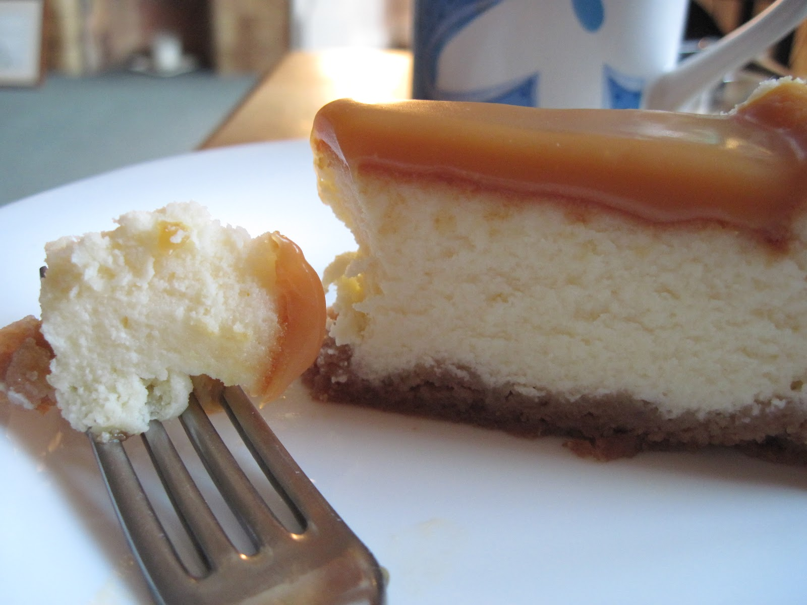 The Sugar Lump: White Chocolate Caramel Cheesecake