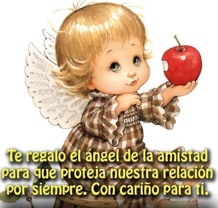 ángel de la amistad