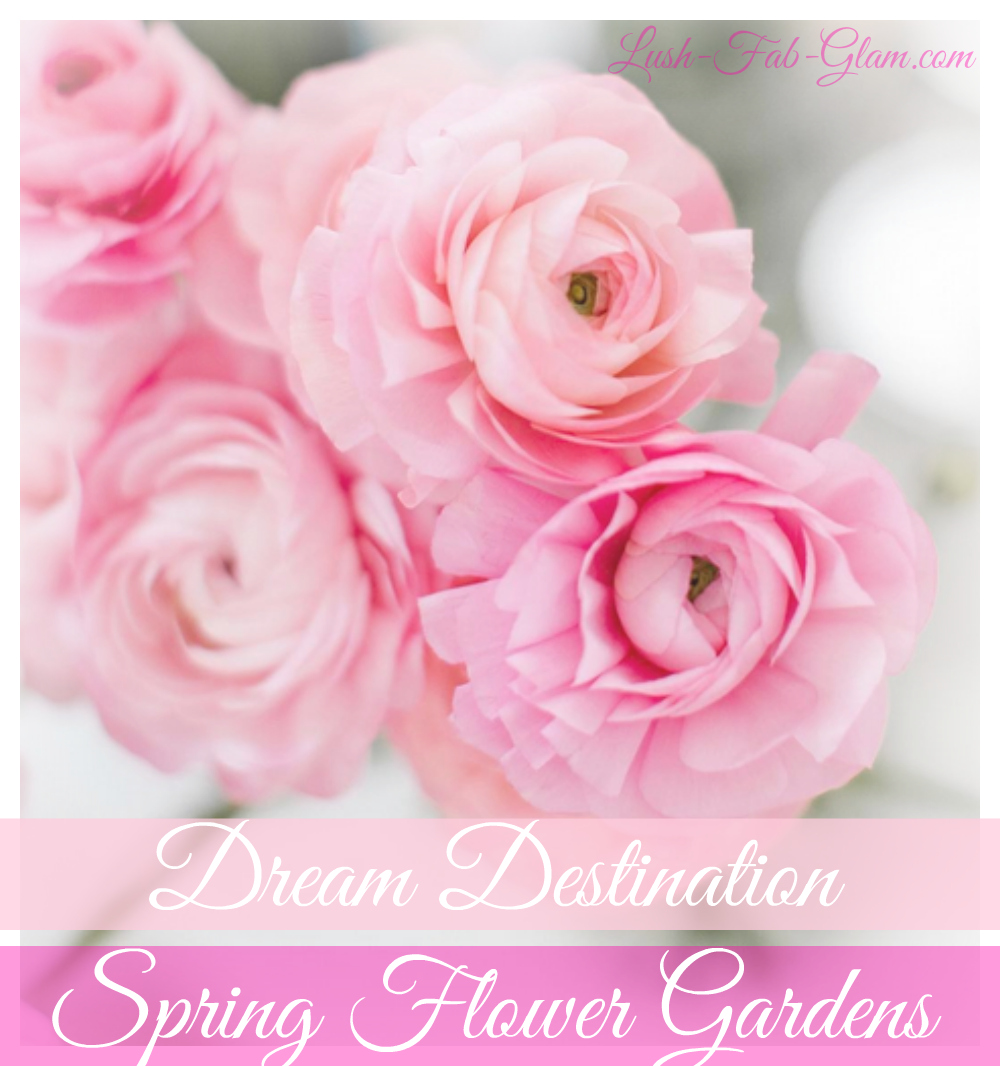 Dream Destination: Beautiful Spring Flower Gardens.