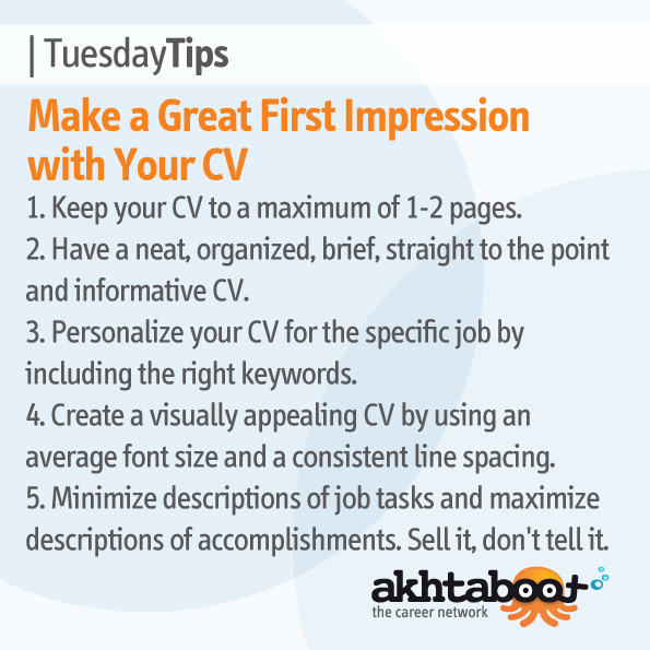 make a great first impression with your cv at akhta boot blog