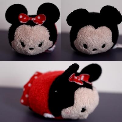 Minnie et Mickey tsumtsum