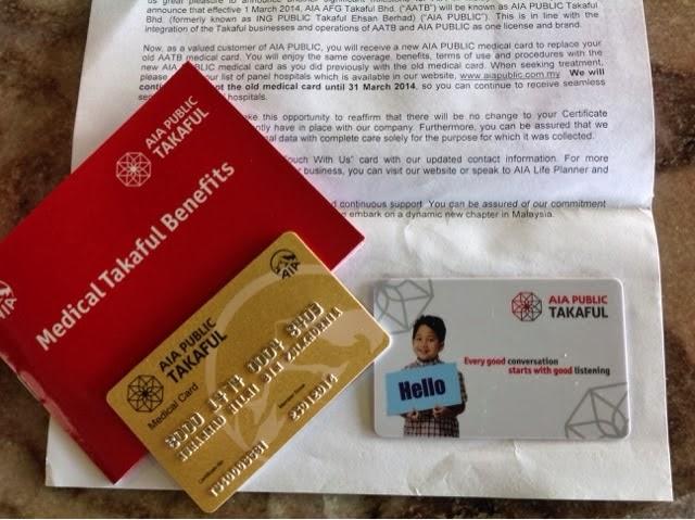 Medical Card AIA Public Takaful Terbaik The Best Malaysia