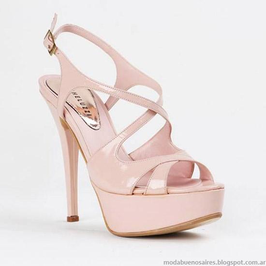 Sandalias de moda primavera verano 2015 Micheluzzi.