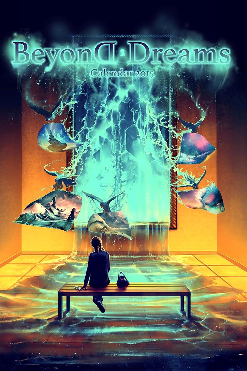 28-Calendar-2015-Beyond-Dreams-Rolando-Cyril-aquasixio-Surreal-Fantasy-Otherworldly-Art-www-designstack-co